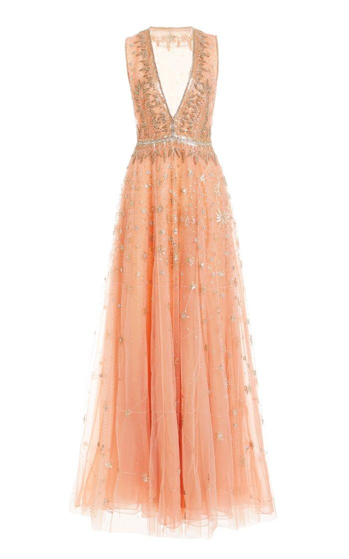 Grapefruit Constellation Gown