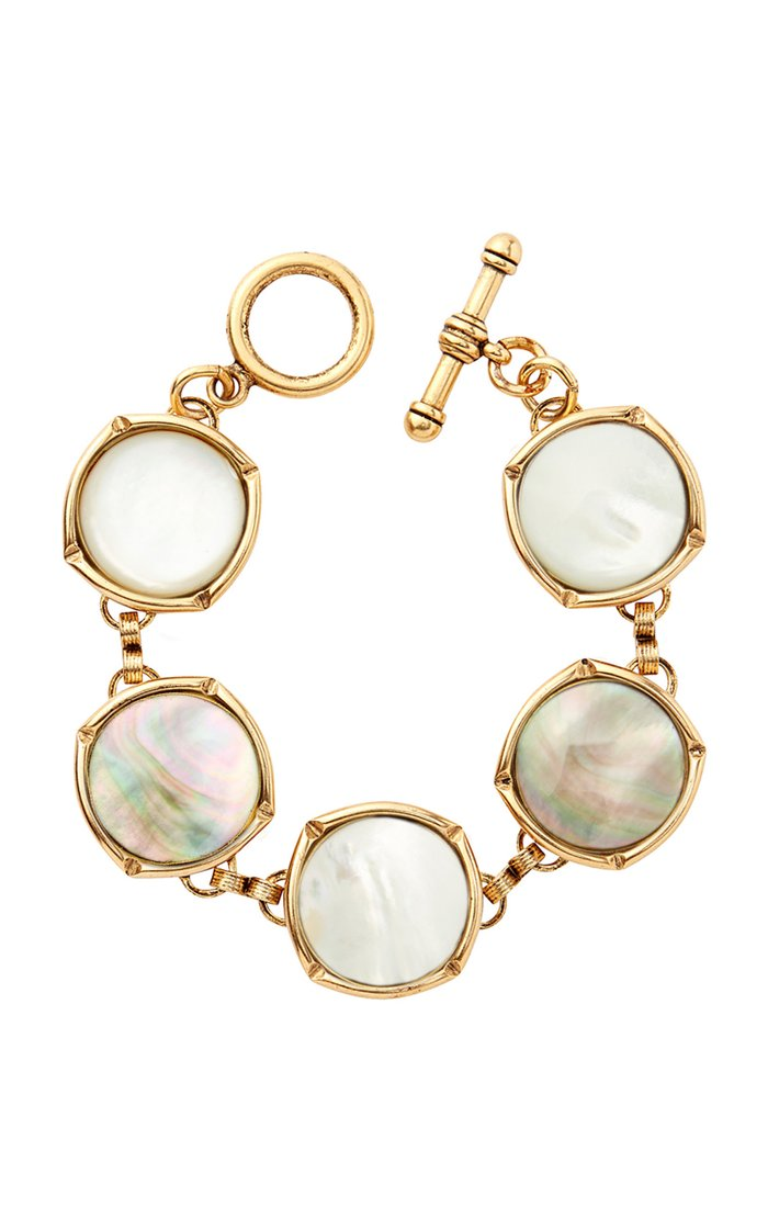 Gold-Tone Bright Side Bubble Bracelet