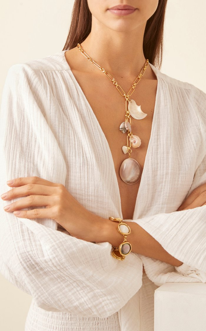 Gold-Tone Endless Summer Y-Necklace