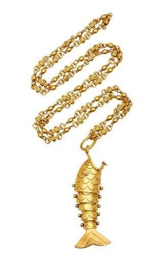 Tall Tale 24K Gold-Plated Necklace