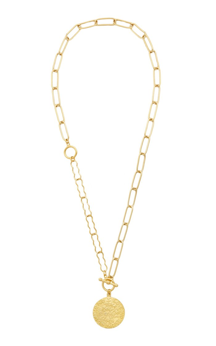 Around The World 24K Gold-Plated Necklace