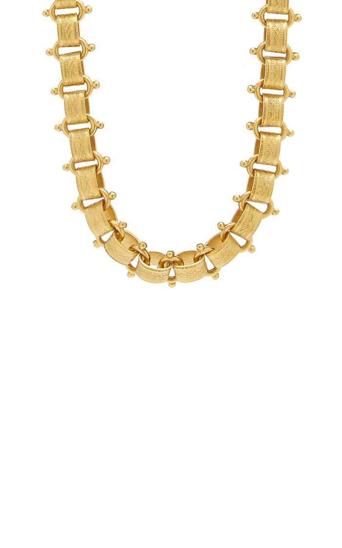 Tara 24K Gold-Plated Necklace