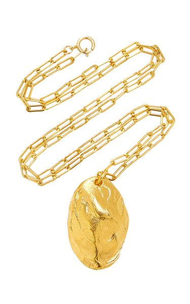 The Tale Of The Cicada 24K Gold-Plated Necklace