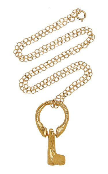 The Key Of Vulnerability 24K Gold-Plated Necklace