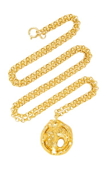 The Evening Shadow 24K Gold-Plated Necklace