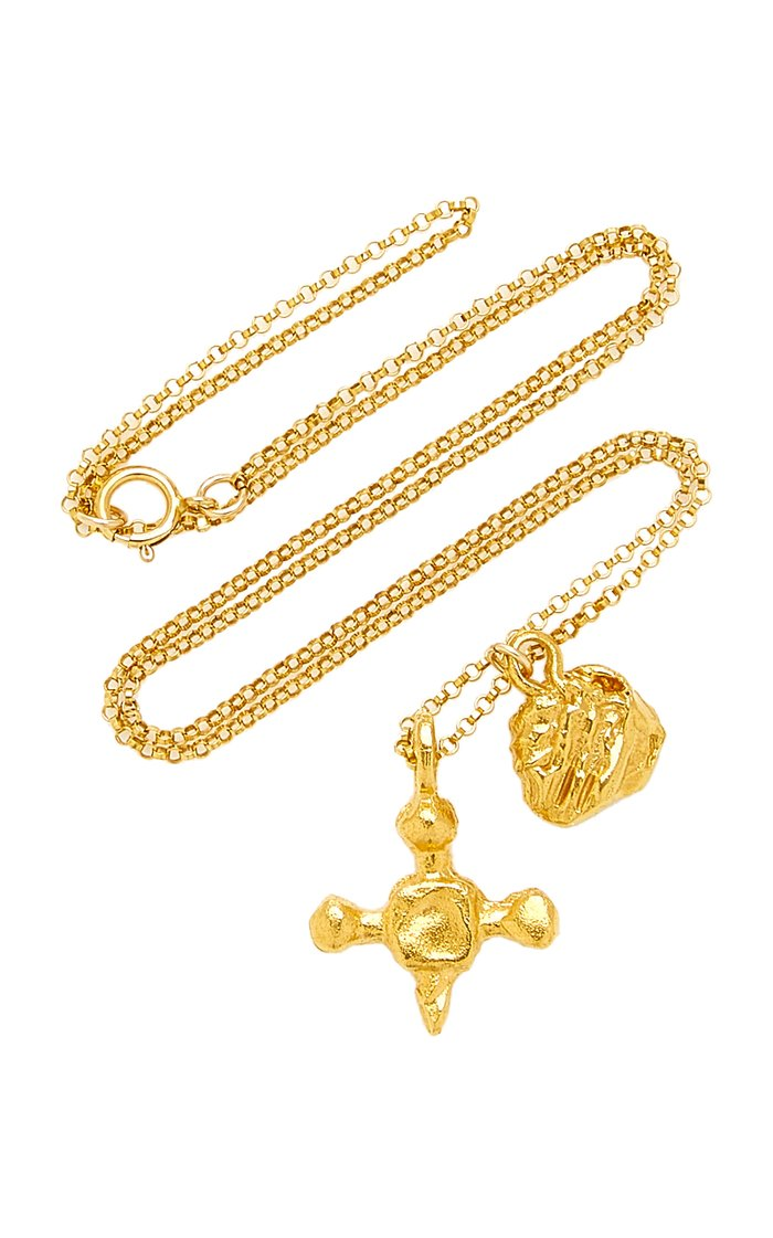 The Memory and Desire 24K Gold-Plated Necklace