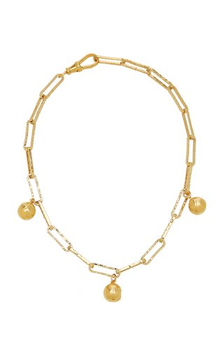 The Anchor in the Storm 24K Gold-Plated Choker