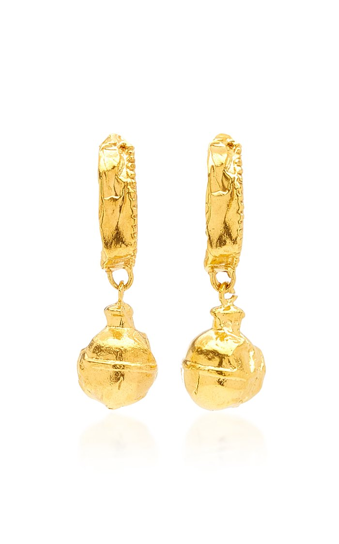 The Fragments of the Shore 24K Gold-Plated Earrings