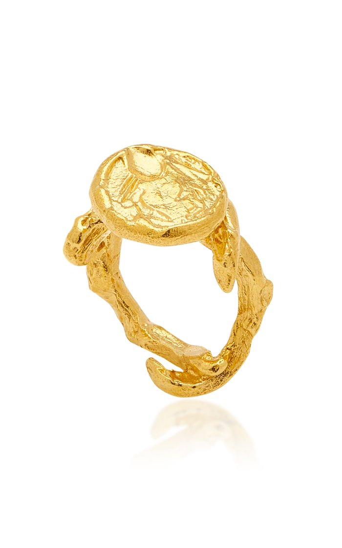 The Wasteland 24K Gold-Plated Ring