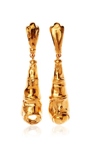 The Bella Donna 24K Gold-Plated Earrings