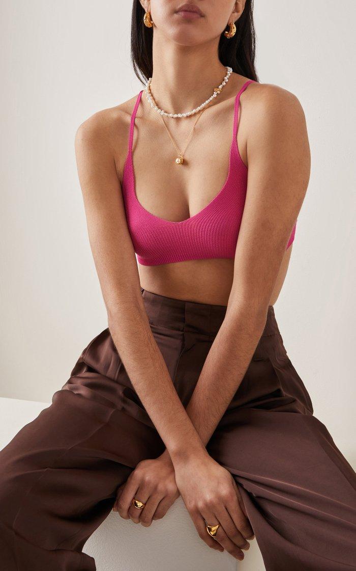 La Calliope Pearl 24K Gold-Plated Choker