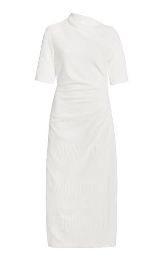 Parkfield Draped Crepe Midi Dress