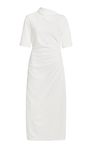 Parkfield Draped Crepe Midi Dress