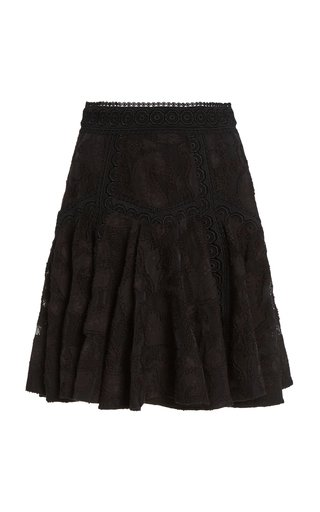 Godson Cotton-Blend Mini Skirt