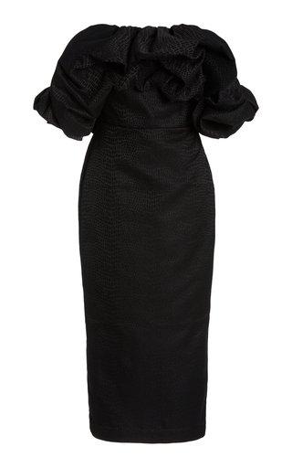 Fields Off-The-Shoulder Pencil Dress