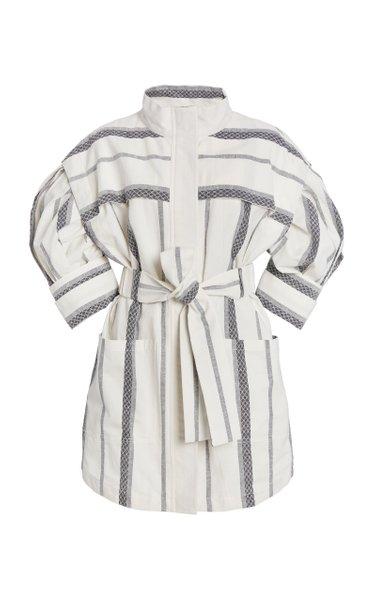 Kingsway Collared Stripe Mini Dress