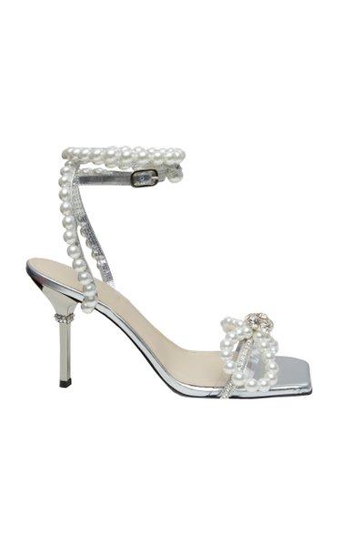 Pearl Embellished Sandals