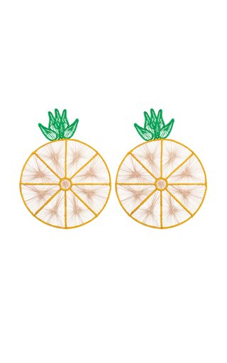 Set Of 2 Pineapple Placemat