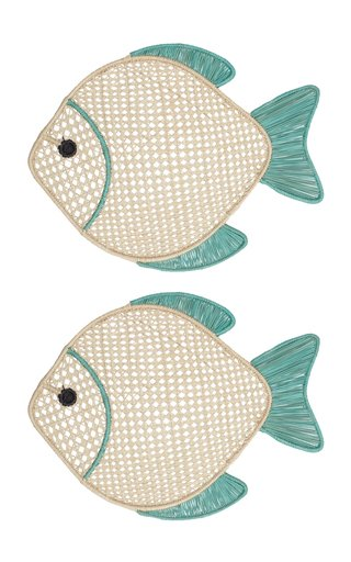 Set of 2 Fish Placemat