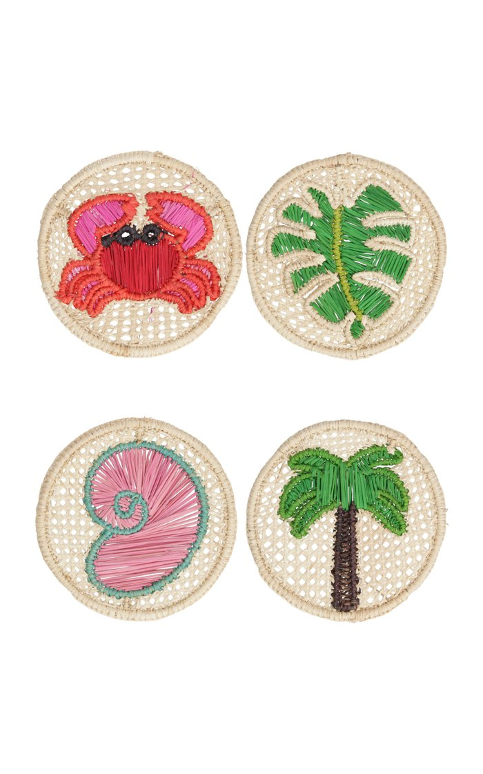 Set Of 4 Mixed Sea Creature Coasters