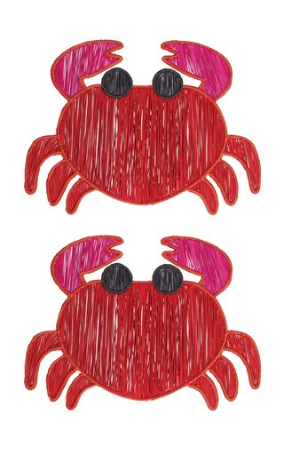 Set Of 2 Crab Placemat