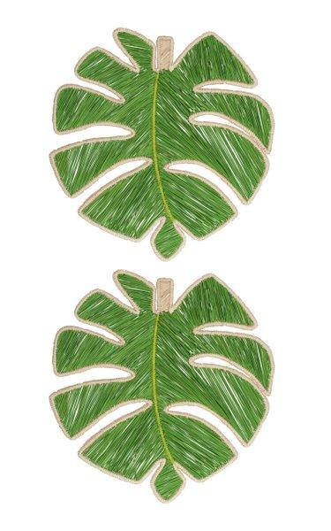 Set Of 2 Leaf Placemat