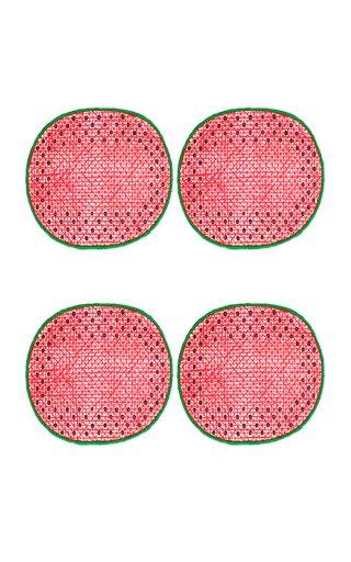 Set Of 4 Watermelon Coasters