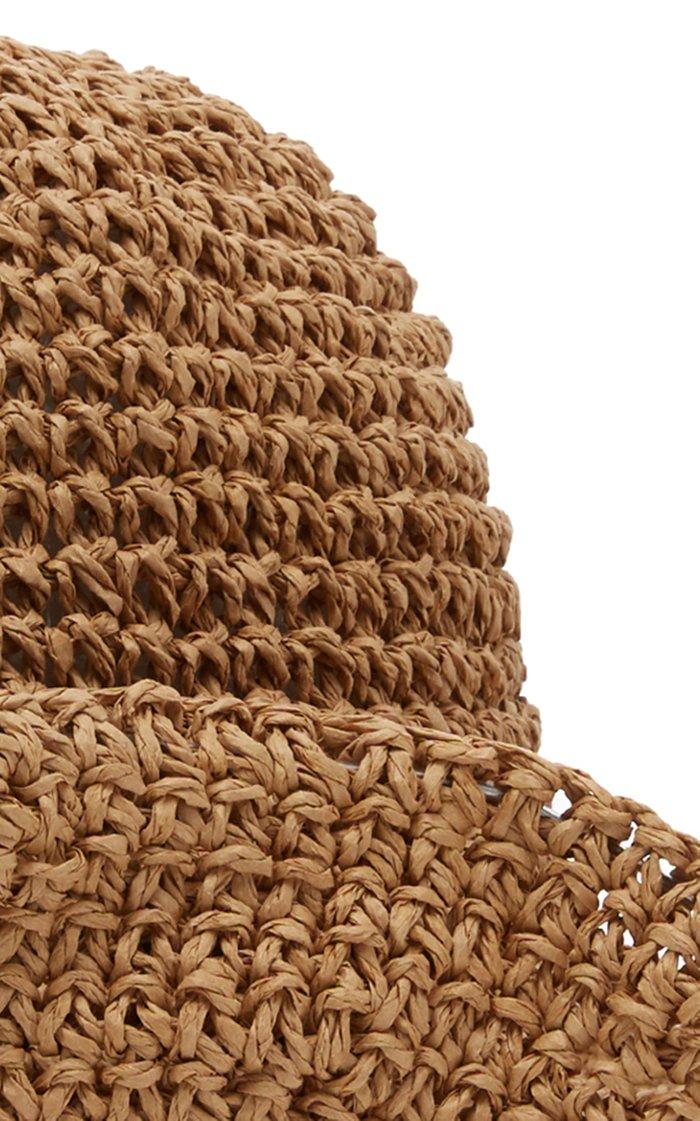 Fornillo Woven Straw Sunhat