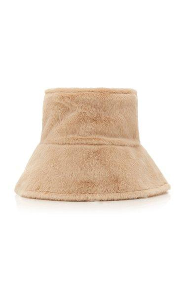 Camille Faux Fur Bucket Hat
