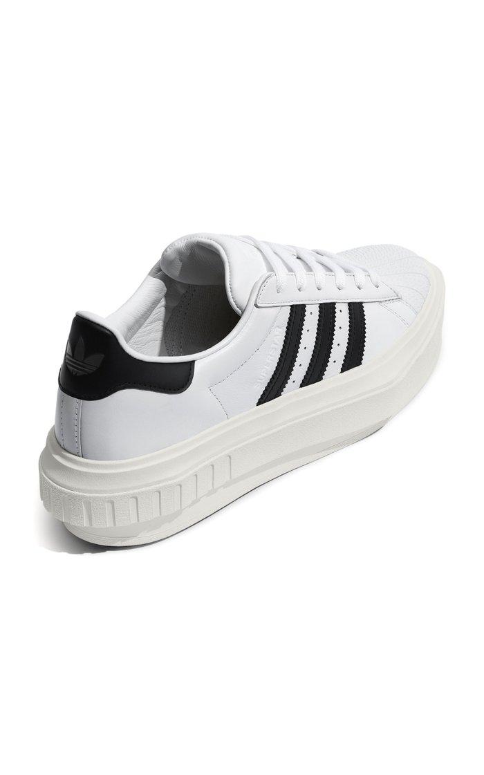 Superstar Platform Leather Sneakers
