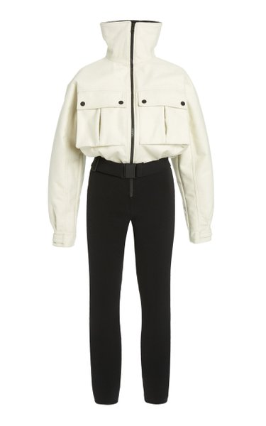 Telluride Convertible Wool-Blend Ski Suit