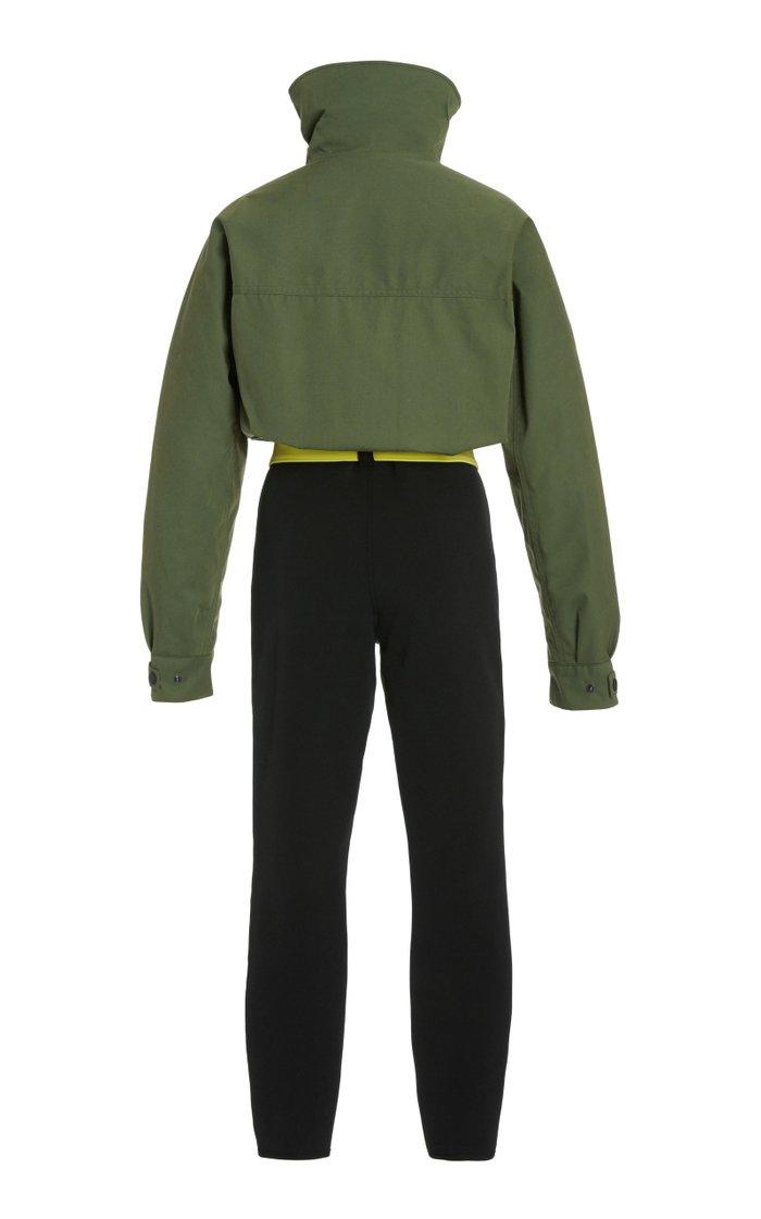 Telluride Convertible Wool-Blend Ski Suit