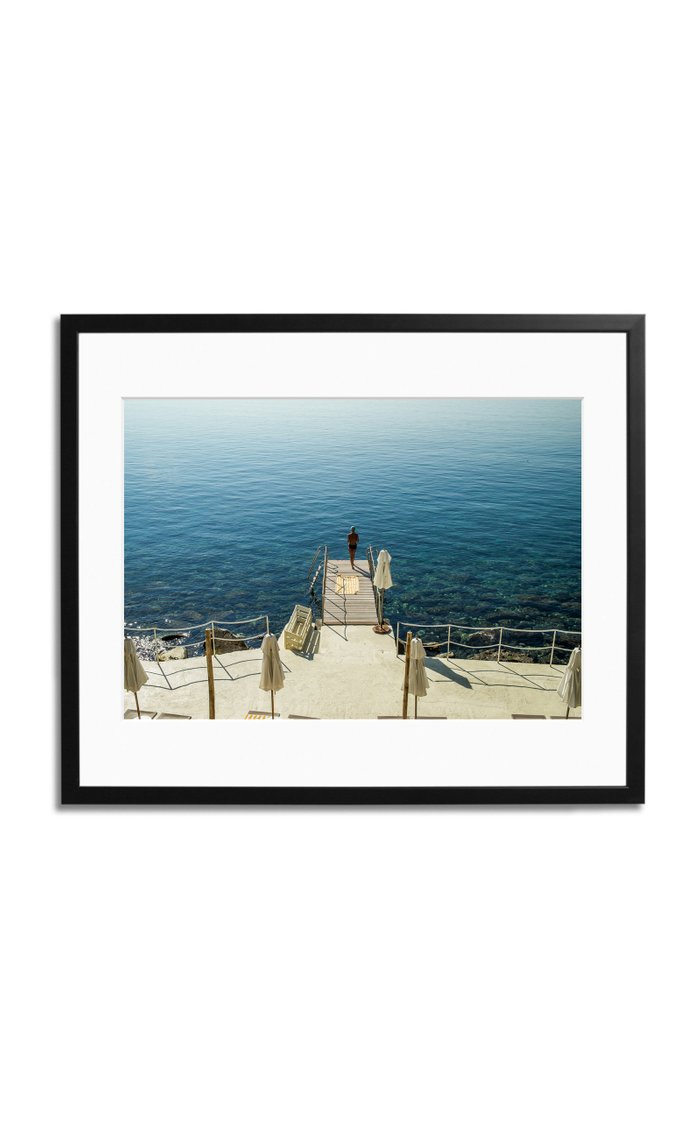 The Azure View Framed Photography Print