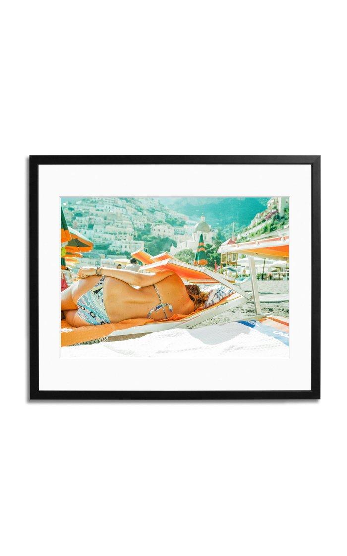 Positano Vibes Framed Photography Print