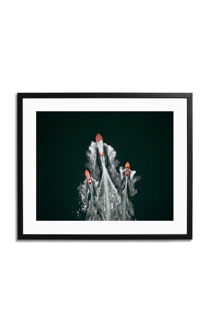 Riva Overheads Framed Photography Print