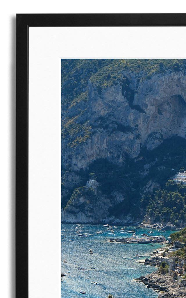 Capri Framed Photography Print