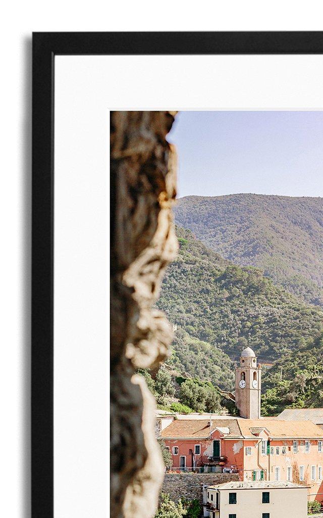 Liguria Framed Photography Print