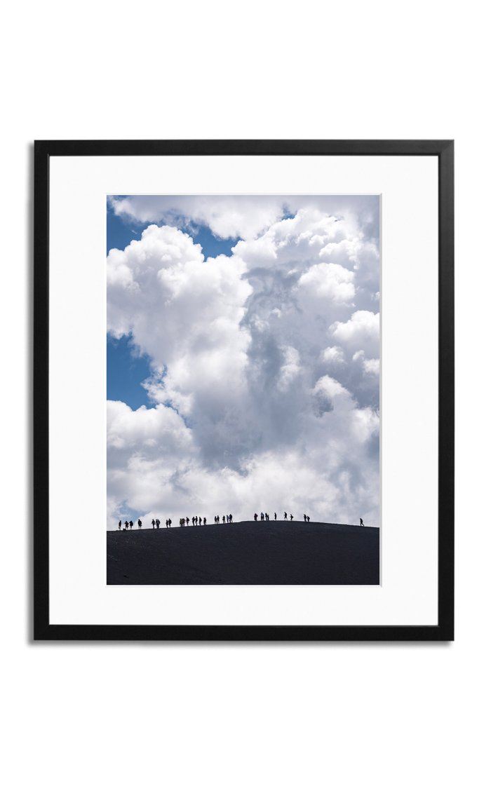 Aetna Framed Photography Print