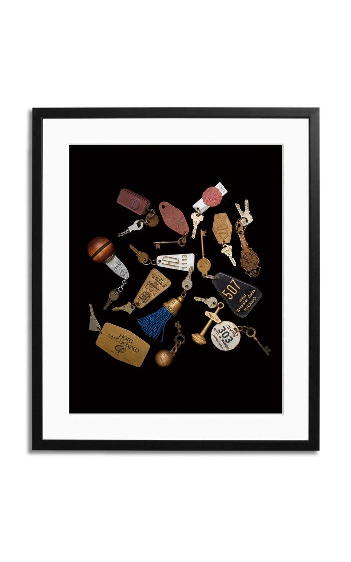 Travel Keys Framed Photography Print