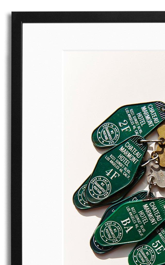 Keys, Chateau Marmont Framed Photography Print