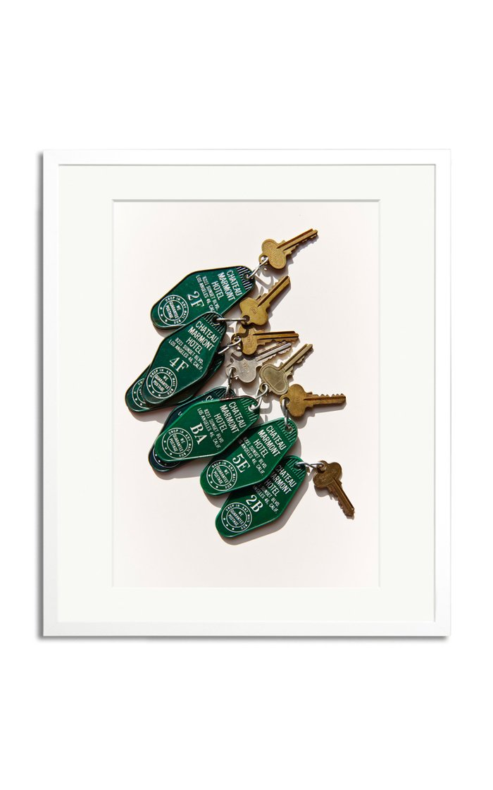 Keys, Chateau Marmont Framed Photography Print