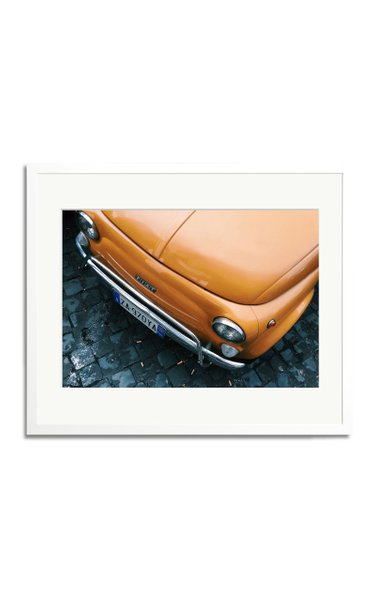 Vintage Fiat Framed Photography Print