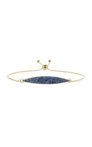 Odette 14K Gold Blue Sapphire Bracelet