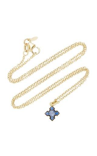 Igafe Blue Sapphire Necklace