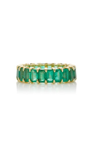 Harper 14K Gold Emerald Ring