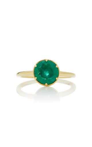 Laval 14K Gold Emerald Ring