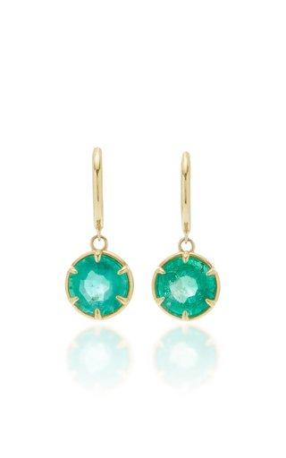 Alastair 14K Gold Emerald Earrings