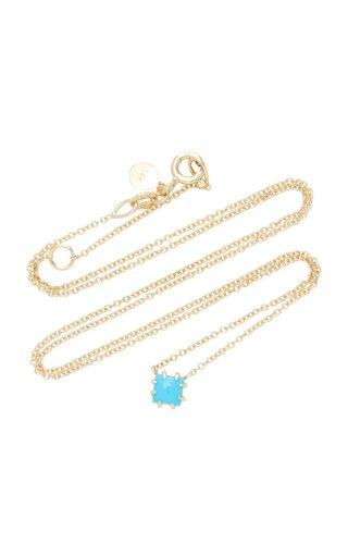 Javina 14K Gold Turquoise Necklace