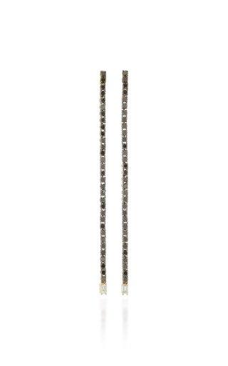 Lyra 14K Gold Diamons Earrings