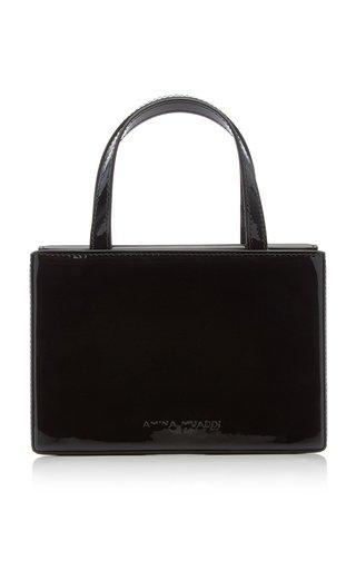 Amini Giorgia Patent Leather Top Handle Bag